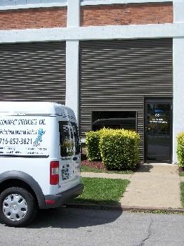 CSI Janitorial Van & Office