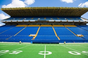 Football stadium_csi janitorial cleaning sports facilities