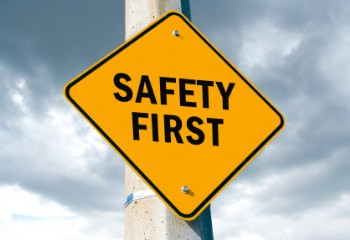 Safety First Sign_csijanitorial safety committee and training